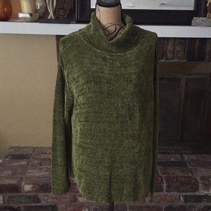 Sweaters - Chenille turtleneck sweater